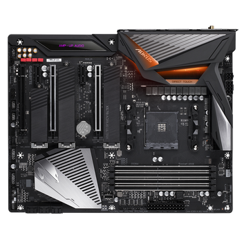 AMD, X570, AORUS ULTRA, AM4, 1xHDMI, 1xType-C, 1xRJ45, 5xPCI-E, 802.11ac, ATX, 3xM.2, 6xSATA, 3 Years Warranty