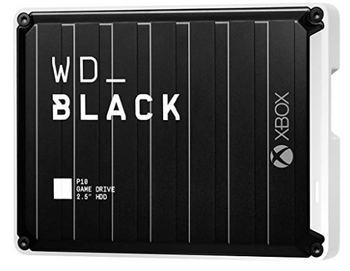 WD BLACK P10 GAME DRIVE FOR XBOX 3TB BLACK TOP W/WHITE BOTTOM WORLDWIDE