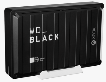 WD BLACK D10 GAME DRIVE FOR XBOX 12TB BLACK MULTI-CITY ASIA