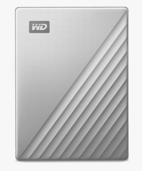 MY PASSPORT ULTRA 1TB SILVER WORLDWIDE