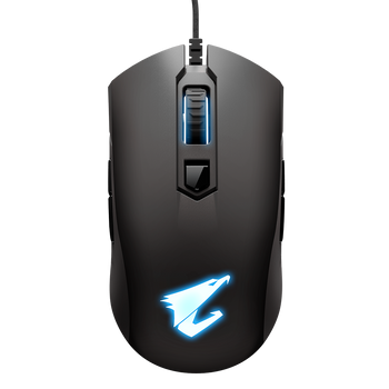 AORUS, M4, Gaming Mouse, 6400dpi, Pixart 3988 Optical Sensor, 4 side buttons, USB Corded, RGB Fusion 2.0, 2 Years Warranty