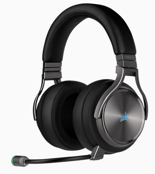 CORSAIR VIRTUOSO RGB WIRELESS SE High-Fidelity Gaming Headset, Gunmetal
