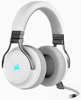 CORSAIR VIRTUOSO RGB WIRELESS High-Fidelity Gaming Headset, White