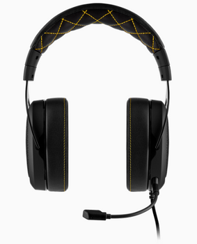 CORSAIR HS60 PRO SURROUND Gaming Headset, Yellow