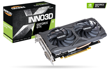 NVIDIA, GTX 1650 SUPER, TWIN X2 OC, 1755MHz, 4GB DDR6, 1xDVI-D, 1xHDMI, 1xDP, ATX, 2xFans, 450W, 3 Years Warranty