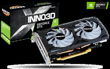 NVIDIA, GTX1660 SUPER, TWIN X2 OC RGB, 1815MHz, 1xHDMI, 3xDP, ATX, 2xFans, 450W, 3 Years Warranty
