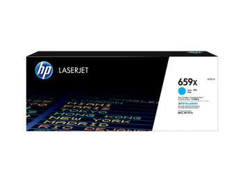 HP 659X (W2011X) LaserJet M776/M856 High Yield Cyan Toner Cartridge