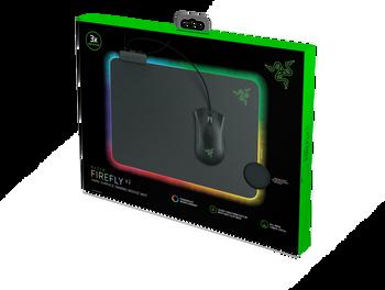 Razer Firefly V2 - Hard Surface Mouse Mat with Chroma