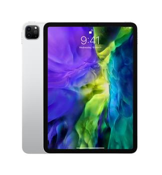 "Apple iPad Pro 11"" (2nd Generation) Wi-Fi + Cellular 256GB - Silver (MXE52X/A)"