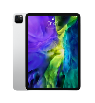 "Apple iPad Pro 11"" (2nd Generation) Wi-Fi + Cellular 128GB - Silver (MY2W2X/A)"