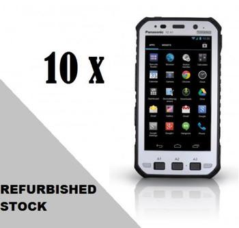 "(REFURB) 10x Panasonic Toughpad FZ-X1 (5"") Mk1 with 4G, 12 Point Satellite GPS, Barcode (30 Day Warranty / NO BATTERY WARRANTY / Loose Box Packaging)"