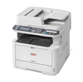 OKI MB472dnw 33ppm A4 Wireless Mono Multifunction LED Laser Printer