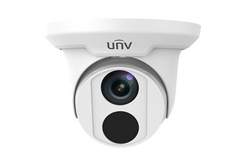 UNIVIEW IPC3616SR3-DPF28M 6MP IR ULTRA 265 OUTDOOR TURRET DOME IP SECURITY CAMERA