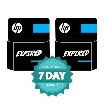 Genuine HP 56 Black Ink Cartridge Twin Pack (EXPIRED)