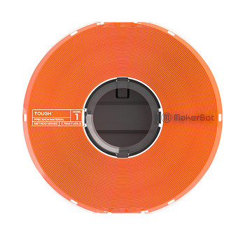 Makerbot Safety Orange Tough Filament Large
