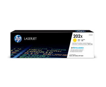 HP 202X (CF502X) LaserJet M254/M280/M281 High Yield Yellow Toner Cartridge