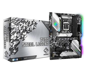 ASRock Z490 Steel Legend ATX Motherboard LGA1200 Intel 10th Gen