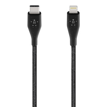 Belkin BOOST↑CHARGE™ USB-C™ Cable with Lightning Connector + Strap