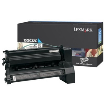Lexmark C752, C762 Cyan High Yield Toner Cartridge