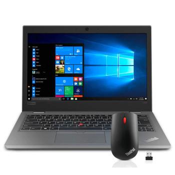 "BUNDLE Lenovo ThinkPad L390 Notebook PC i5-8265U 13.3"" FHD 8GB 256GB SSD W10P 64 + Lenovo ThinkPad Essential Wireless Mouse (20NRS07J00-BUNDLE)"