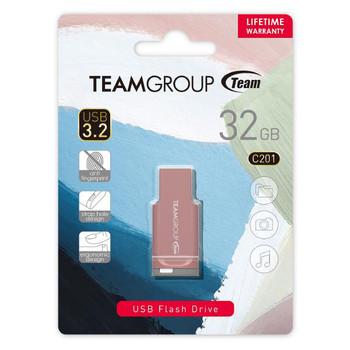 TEAM C201 USB3.2 Morandi Color Flash Drive 32GB