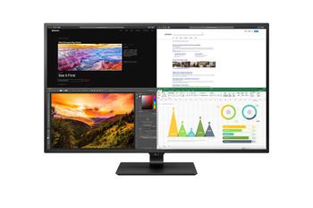 "LG 43"" (16:9) UHD 4K IPS LED Monitor, HDMI(4), DP, USB-C, USB(2), HDR10, Speaker, Vesa, 3yr"