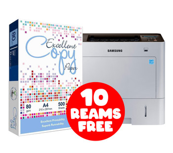 Samsung ProXpress M4030ND + FREE 10 Reams of Excellent A4 Paper