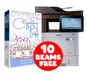 Samsung ProXpress M4580FX + FREE 10 Reams of Excellent A4 Paper