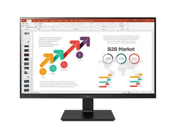 "Bundle LG 24"" (16:9) FHD IPS LED, HDMI, DP, USB-C, USB(2), Speaker + Toshiba 1TB Portable HDD"