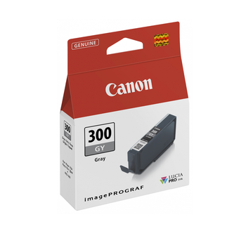 Canon PFI300 Grey Ink Tank