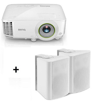 BenQ EH600 DLP Smart Projector w/BONUS Wall Speakers - Full HD/ 3500ANSI/ 10,000:1/ HDMI, VGA/ USB/ Android 6.0 O/S/ Speakers