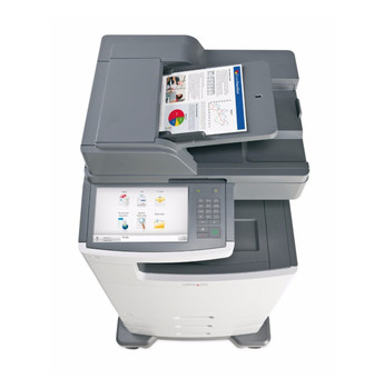 Lexmark X792de 47ppm A4 Colour Multifunction Laser Printer + Base + 3 Trays (Second Hand - Used)