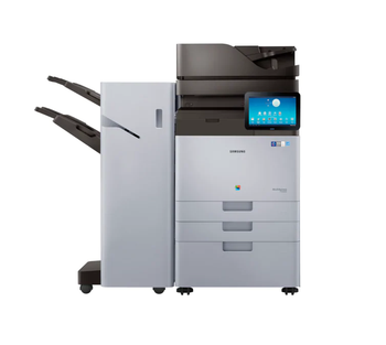 Samsung MultiXpress SL-X7600GX A3 60PPM Colour Laser Multifunction Printer with Base and Finisher