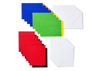 Cricut Joy™ Insert Cards, Fingerpaint Sampler (12 cards, 12 inserts, 12 envelopes)
