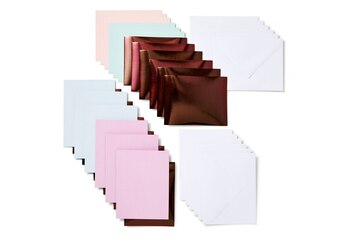 Cricut Joy™ Insert Cards, Macarons Sampler (12 cards, 12 inserts, 12 envelopes)