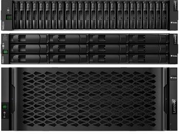 Storage ThinkSystem DE4000H FC Hybrid Flash Array SFF (16 GB cache)