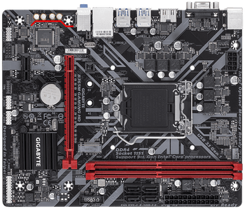 INTEL, B365, GAMING HD, LGA1151, 2xDDR4, 1xD-SUB, 1xHDMI, 1xRJ45, 2xPCI-E, mATX, 1xM.2, 4xSATA, 3 Years Warranty