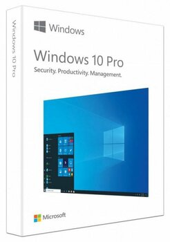 WINDOWS 10 PRO FPP 32-bit/64-bit English USB Flash Drive