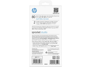 "HP Sprocket 4 x 6"" (102 x 152 mm) Photo Paper and Cartridges"