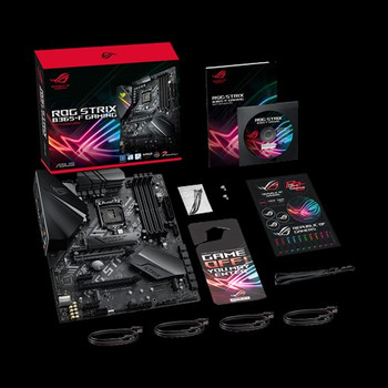 ASUS Intel LGA-1151 B365 ATX gaming motherboard with Aura Sync RGB, pre-mounted I/O shield, dual M.2, DisplayPort, HDMI, DVI, SATA 6 Gbps