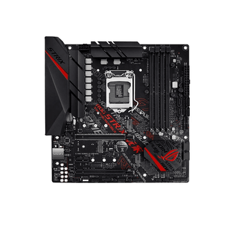 ASUS Intel LGA-1151 B365 mATX gaming motherboard with Aura Sync RGB, pre-mounted I/O shield, dual M.2, HDMI, DVI, SATA 6 Gbps and USB 3.1 Gen 2