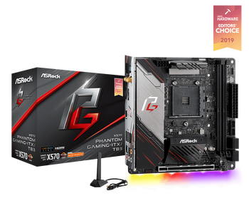 AMD X570; 2 x DDR4,1 PCIe 4.0 x16; 3 USB 3.2 Gen2, 4 USB 3.2 Gen1; 4 SATA3, 1 Hyper M.2 (PCIe Gen4 x4)