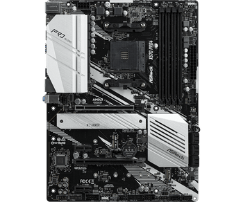 AMD X570; 4 x DDR4 DIMM Slots, 2 PCIe 4.0 x16, PCIe 4.0 x1, M.2(Key E) For WiFi; 8 x SATA3 6.0 Gb/s, Hyper M.2(M2_1), Hyper M.2(M2_2)