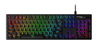 HyperX Alloy Origins RGB Mechanical Gaming Keyboard, Aqua Switch, US Layout