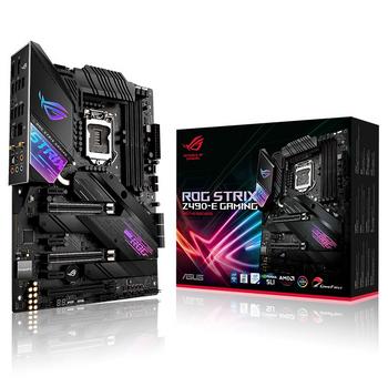 ASUS Intel Z490 gaming motherboard 400 Series for Comet Lake-S