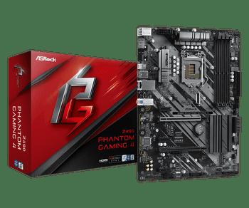 Intel Z490; ATX; 4 DIMM; PCIe x16: 2(x16, x4), PCIe x1: 3, PCIe Gen3 x4 & SATA3, 1 WiFi Key E, HDMI, 2x Rear USB 3.2 Gen2, 8x USB 3.2 Gen1