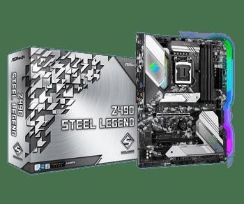 Intel Z490; ATX; 4 DIMM; PCIe x16: 2(x16, x4), PCIe x1: 3, 1 WiFi Key E, 1 SSD for RKL, HDMI, D-Sub, 2x Rear USB 3.2 Gen2, 6x USB 3.2 Gen1