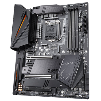INTEL,Z490 AORUS MBwDirect 12 Phases Digital VRM Design,Comprehensive Thermal Solution wFinsArray 2,WiFi6,802.11ax