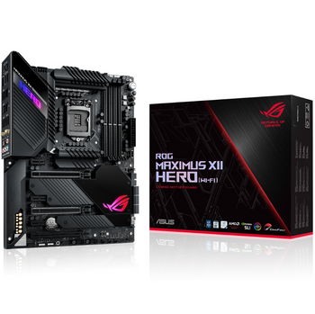 ASUS Intel Z490 Gaming Motherboards for Comet Lake S 10th Gen CPUs/ROG Z490/ROG-MAXIMUS-XII-HERO-WI-FI