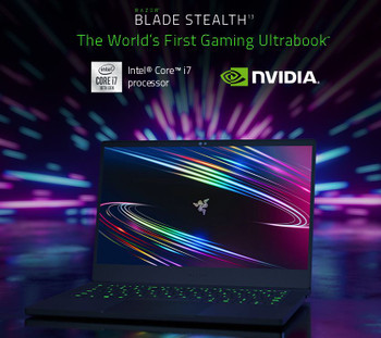 "Razer Blade Stealth 13 (L2.5P/ 13.3"" UHD 4K Touch/ i7-1065G7/ GTX 1650 Ti Max-Q/ 16GB RAM/ 512GB PCIe SSD/ Black/ 1.48kg)  - AUS/NZ Packaging"